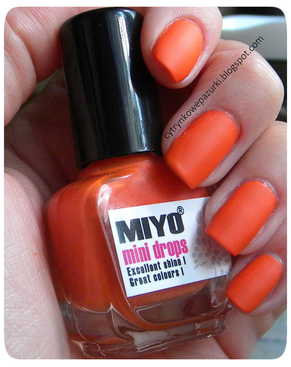 Poniedziałki z Miyo Mini Drops Pure Orange 16