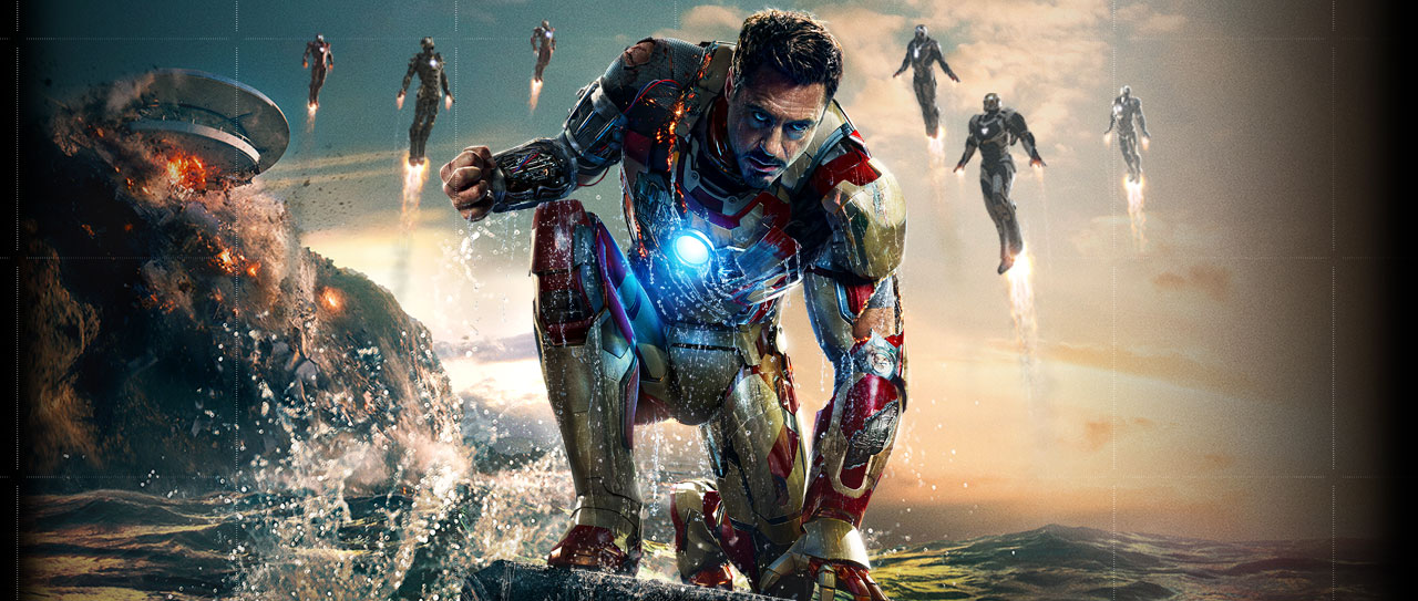 Iron Man 3 Desktop Wall Paper 31280x543px