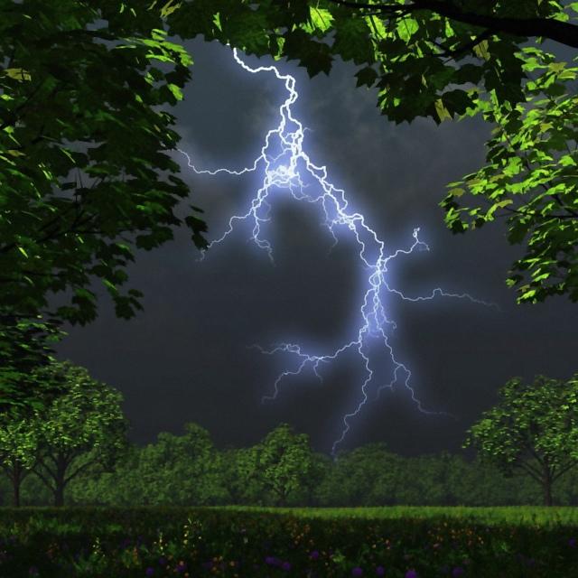 Lightning strike / lynnedslag