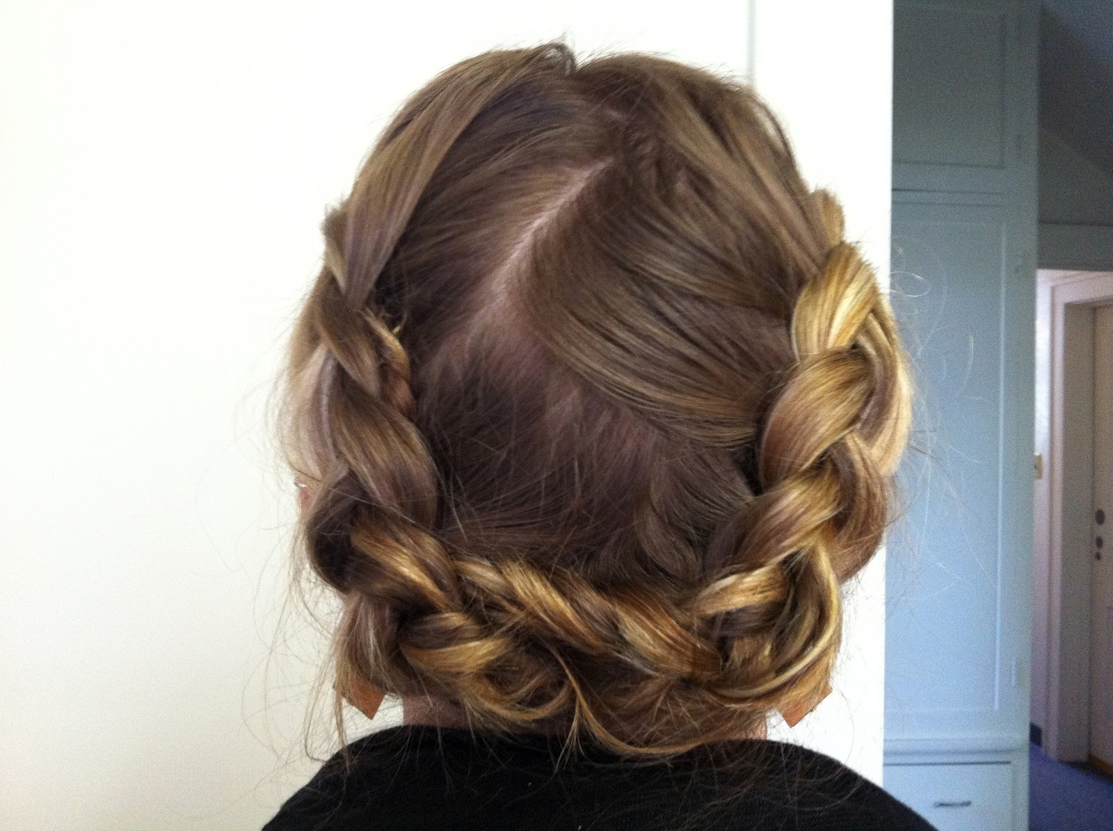 Hairstyles Halo : Bye Bye Beehive ? A Hairstyle Blog: Reverse Halo Braid