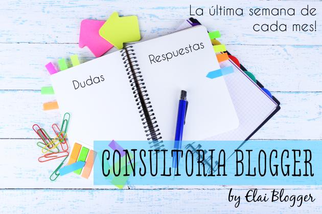Consultoría Tutoriales Blogger