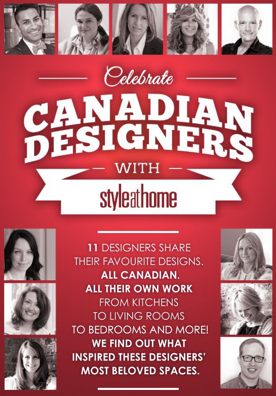 Canadian Designers via Desire to Decorate
