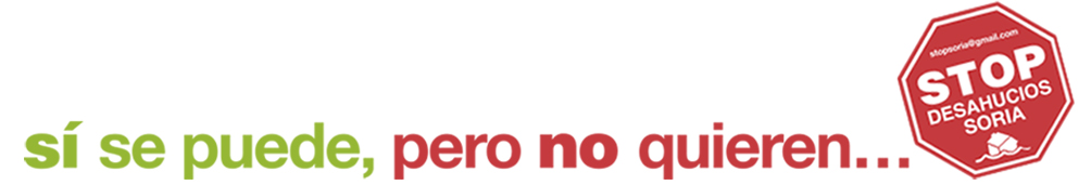 Stop Desahucios Soria