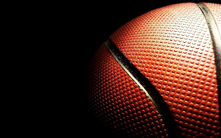 Basketball Ball in Dark Awesome HD Desktop Wallpaper