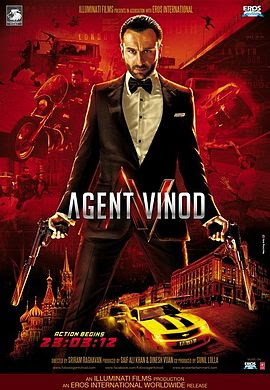 Agent Vinod (2012 - movie_langauge) - Kareena Kapoor, Saif Ali Khan, Malika Haydon, Gulshan Grover, Maryam Zakaria, Ram Kapoor, Prem Chopra, Leeann Roberts, Adil Hussain, Vasilisa Petina, Shahbaaz Khan, Ravi Kishan, Anshuman Singh, Babu Antony, Dheerendra Dwivedi
