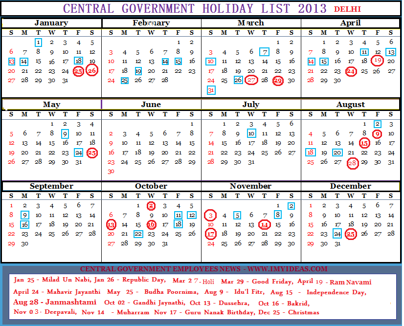 Tamil Nadu Circle Postal Stenographers Association Calendar 2013
