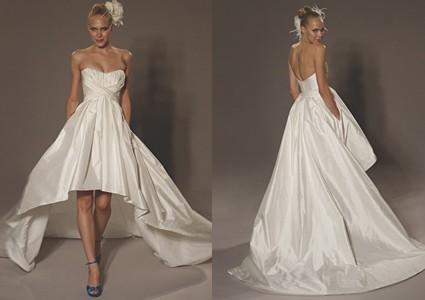 Lotus Blossom Design The Mullet Wedding Dress