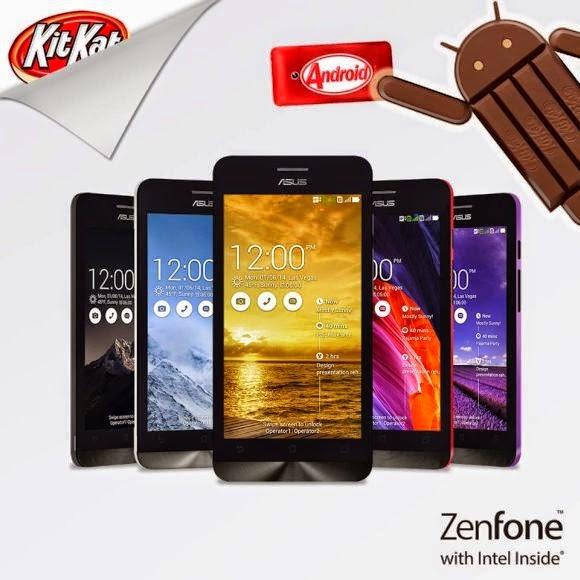 KitKat Asus Zenfone 5