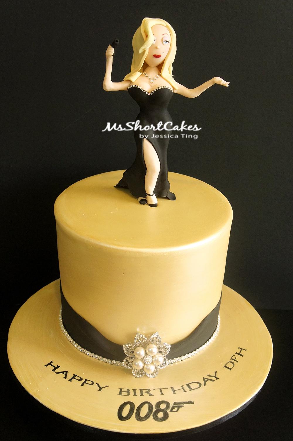 Cake Design James Bond : Miss Shortcakes: I love my job!