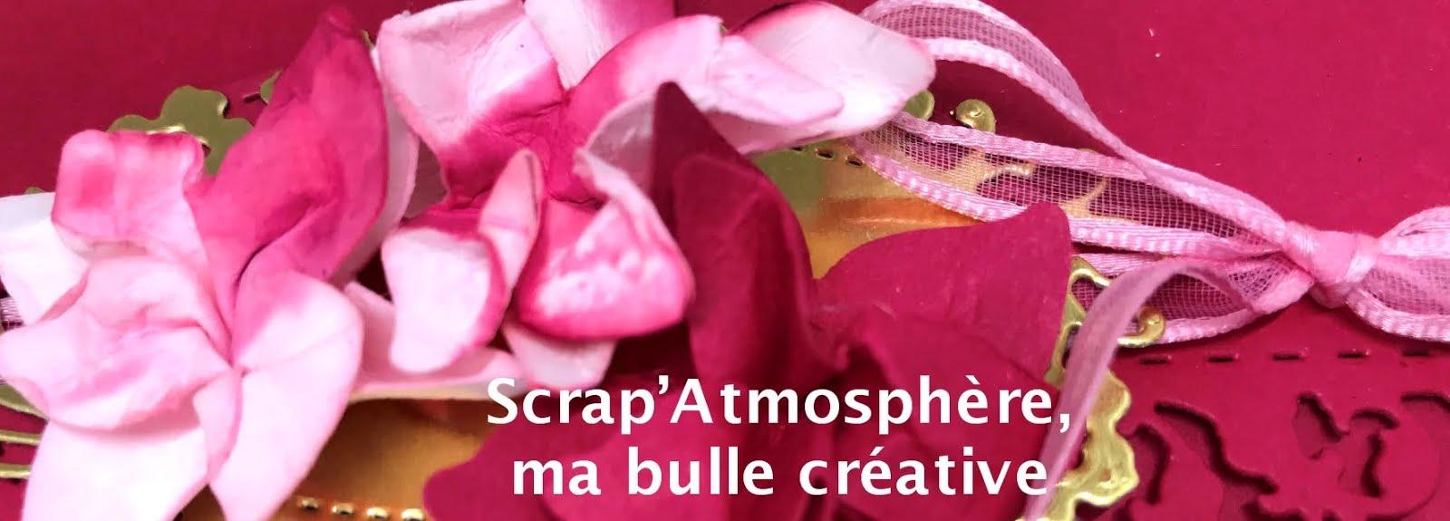 SCRAPATMOSPHERE, les ateliers créatifs de Catherine