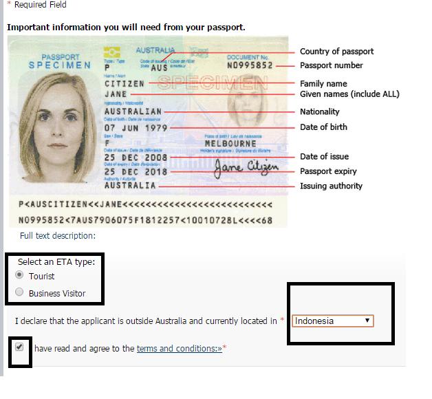 cara membuat visa kerja di australia cara membuat visa