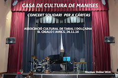 26.11.16 ACTO SOLIDARIO EN LA CASA DE CULTURA DEL CIGALO I AMICS POR CÁRITAS