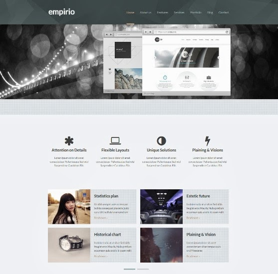Empirio Responsive WordPress Theme