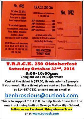 10-22 TRACK 250 Oktoberfest