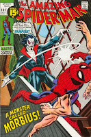 Amazing Spider-Man #101 cover - first appearance of Morbius the Living Vampire