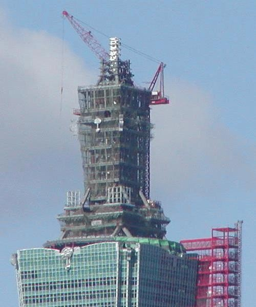 encyclopedia taipei 101 construction