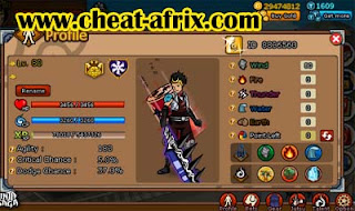 Jual Char Ninja Saga Reward Clan