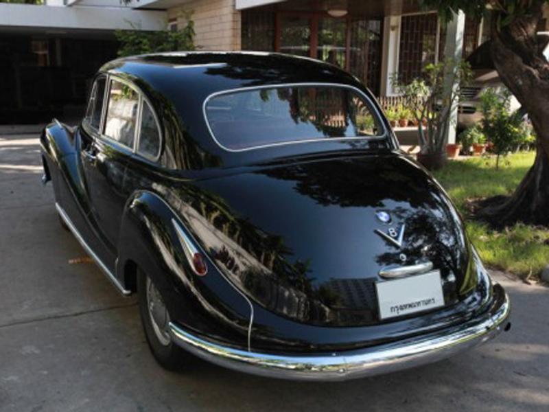 Automotive Database: BMW 501