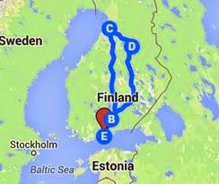 Mustelma - Our Trip to Oulu 20-22 Feb