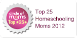 Circle of Moms Top 25