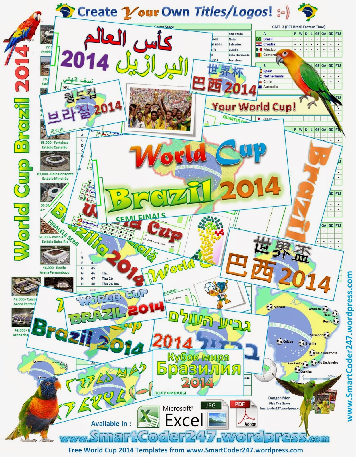 how to create your own blog template - world cup chart of games free software and shareware
