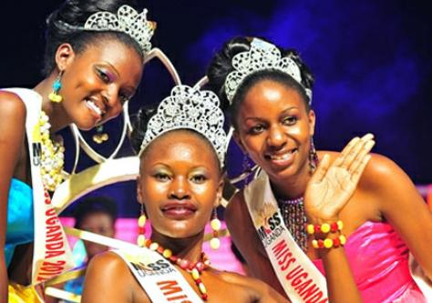 Miss Uganda 2012 winner Phiona Bizzu