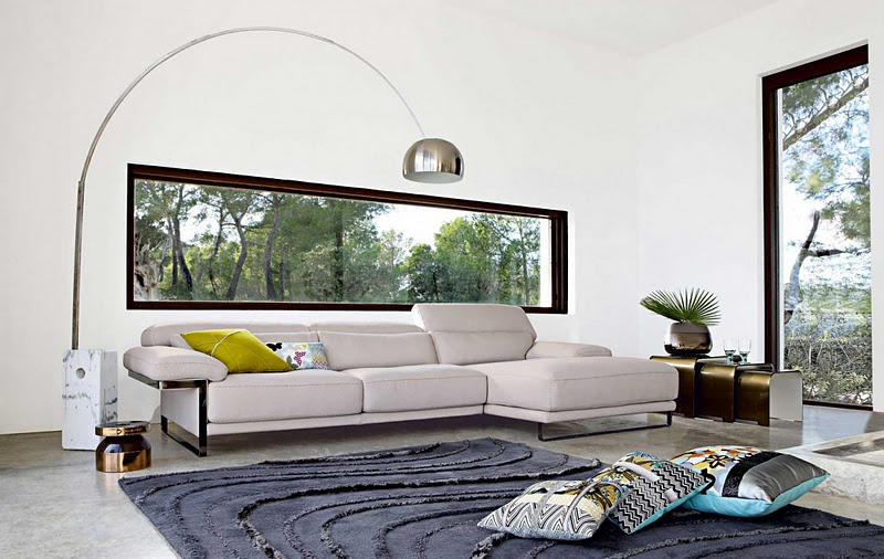 loveisspeed living room inspiration modern sofas by roche bobois. Black Bedroom Furniture Sets. Home Design Ideas