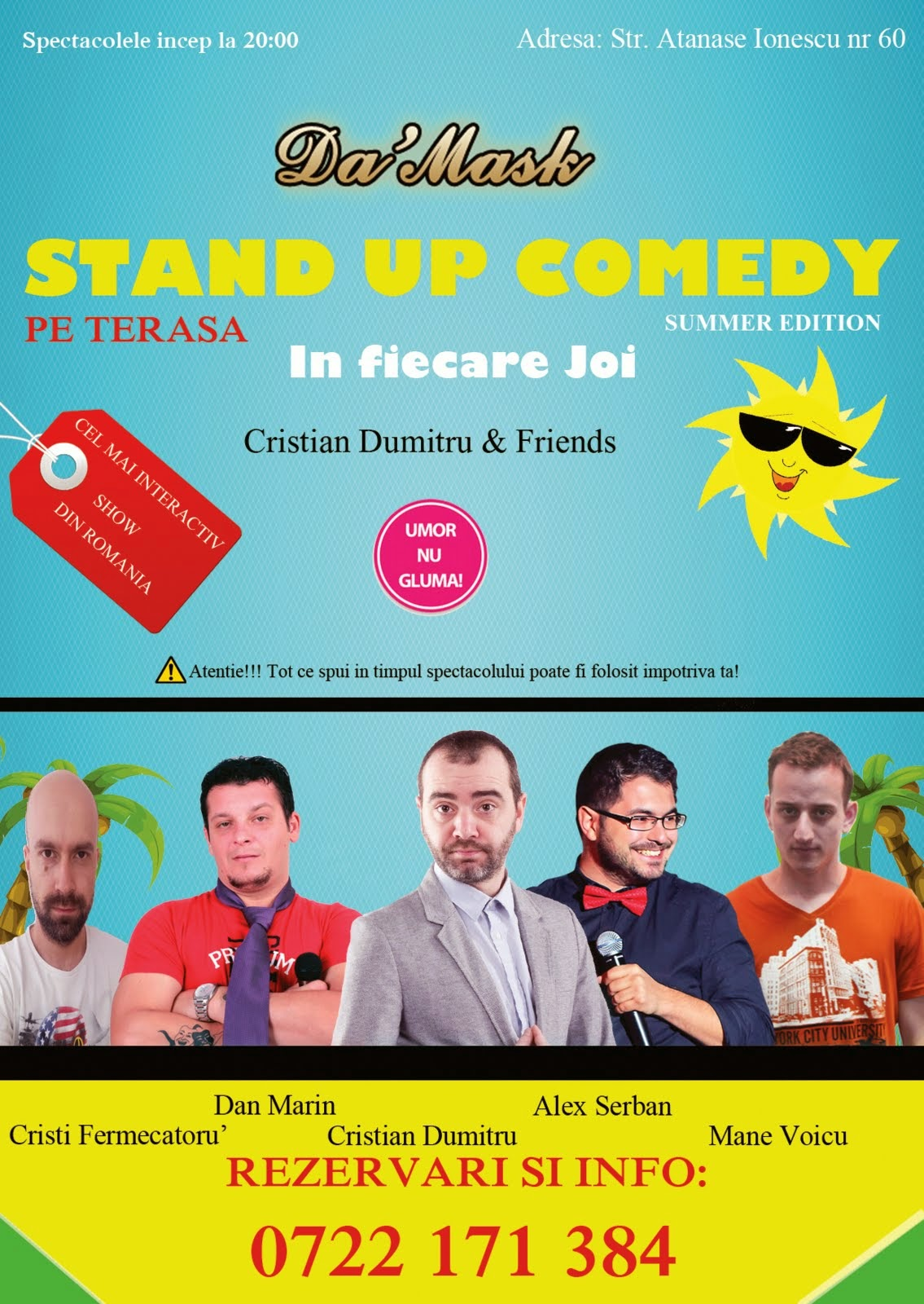 Stand-Up Comedy Joia pe Terasa