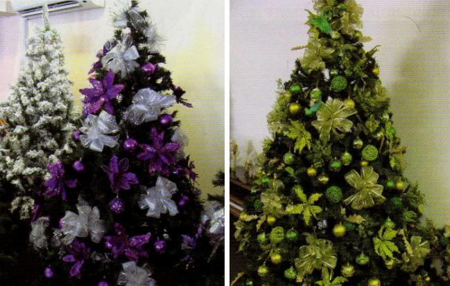 Como decorar arboles de navidad con mallas imagui - Como adornar mi arbol de navidad ...