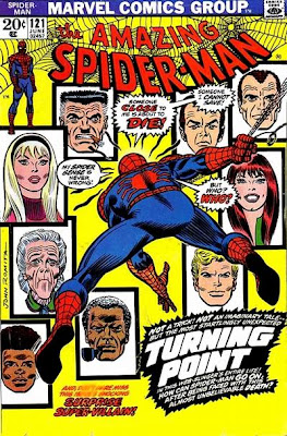 Amazing Spider-Man #121, the death of Gwen Stacy