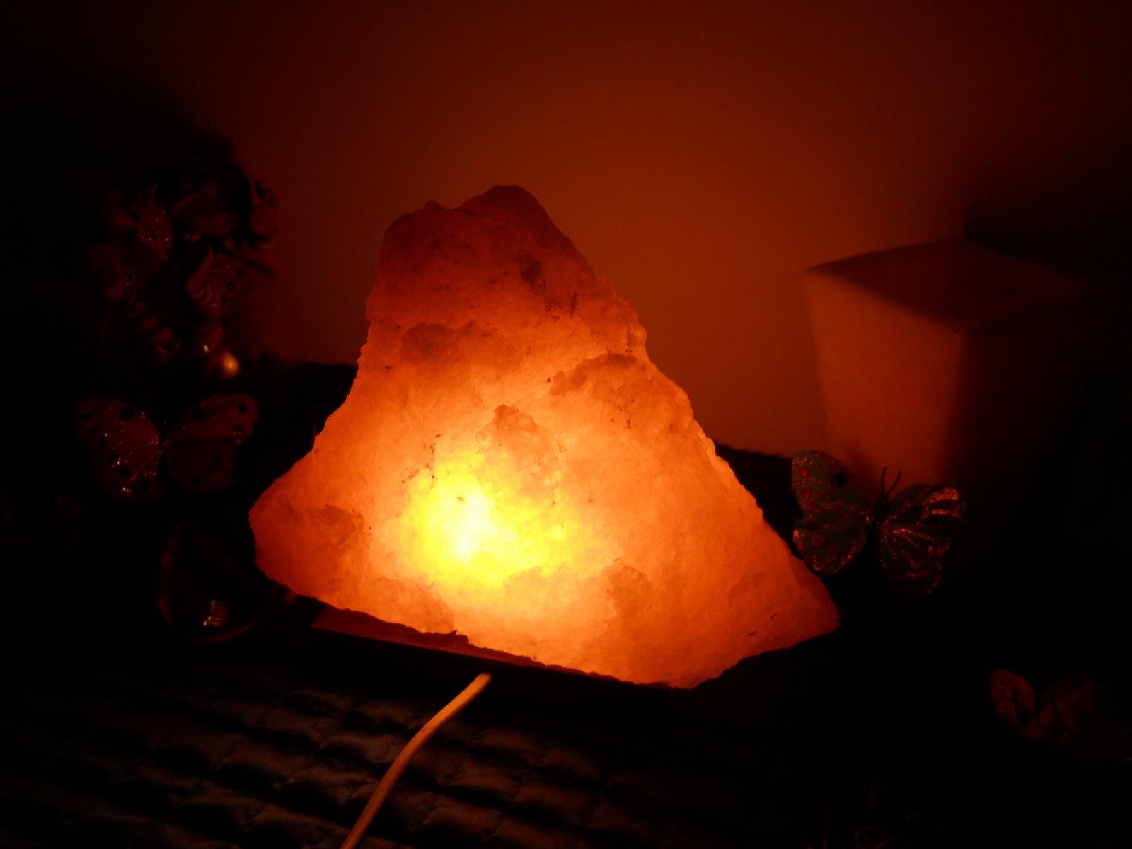 Vivir con alas lamparas de cristal de sal 2011 - Lamparas de sal precios ...