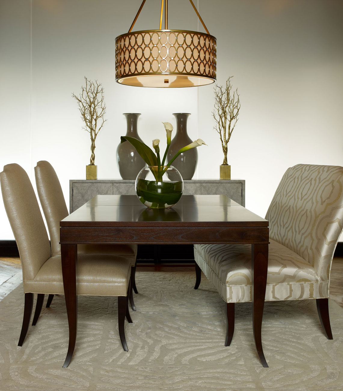 Modern furniture 2013 candice olson 39 s dining room collection for Modern dining room designs 2013