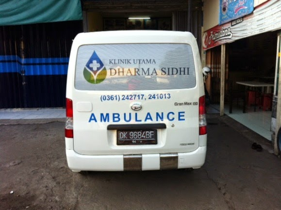 branding mobil bali