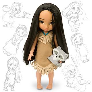 Disney Animators Club Pocahontas Doll