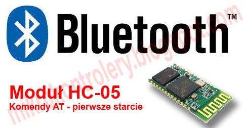 Bluetooth HC-05: Komendy AT - Pierwsze starcie
