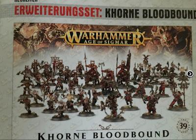 Ejército básico de Khorne para Age of Sigmar
