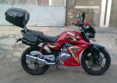 suzuki Thunder 125 touring modif
