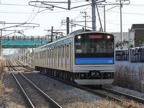 仙石線 仙台・あおば通行き 205系3100番台(H27.5.29まで運行)