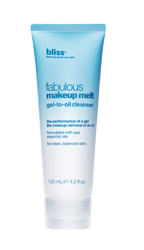 Bliss launches Fabulous Makeup Melt Gel To Oil Cleanser