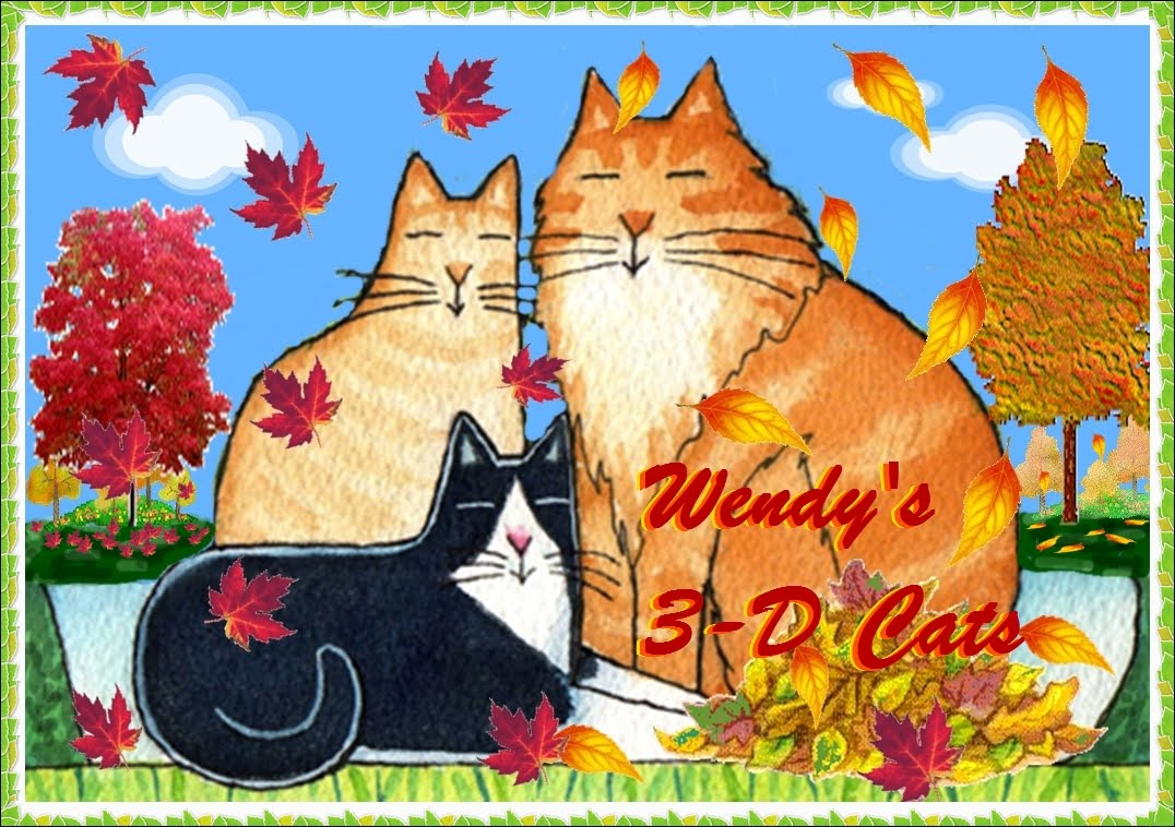 Wendy's 3-D Cats