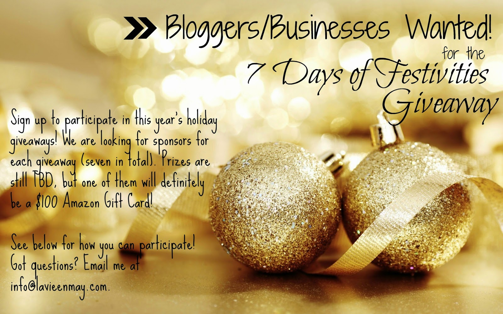 Blogger/Business Opportunity