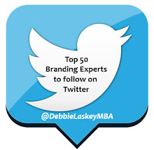 Included in Top 50 #Branding Experts List by Business Coach Evan Carmichael (2012)