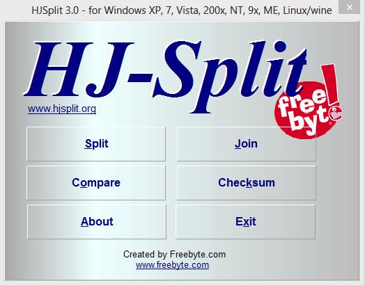 Cara Memecah File Dan Menggabungkan File Dengan HJ-Split