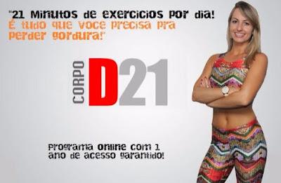 Método para emagrecer em 6 semanas com 21 minutos de exercícios por dia Sua Vida Magra Saudável Agora