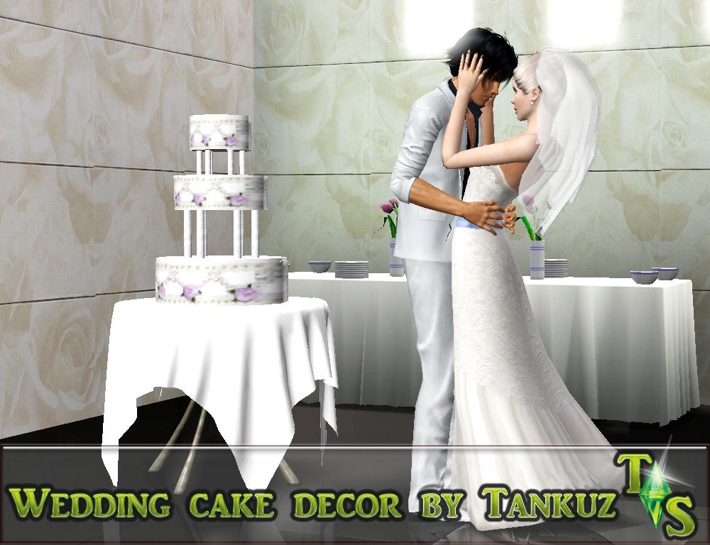 how to make a wedding cake sims 4