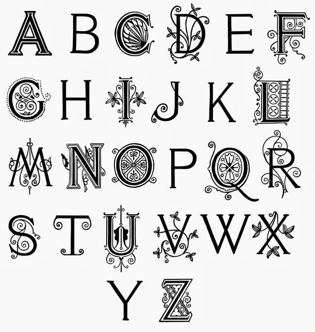 Fancy Handwriting Alphabet Hand Writing