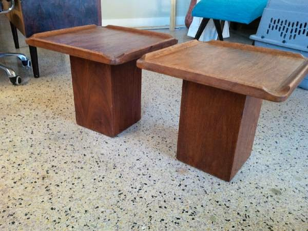 Lovely End Tables   $150