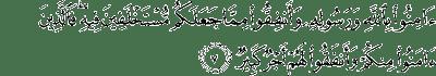 Quran Sura AL-Hadid:7