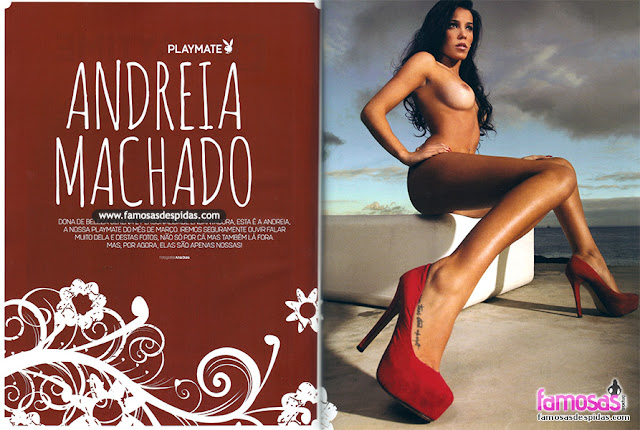 Andreia Machado na Playboy