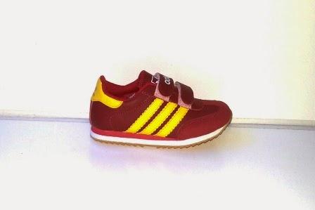 Sepatu Adidas Samba Anak maroon murah,